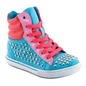 Coco Jumbo Connie Hi Top Studded Sneaker